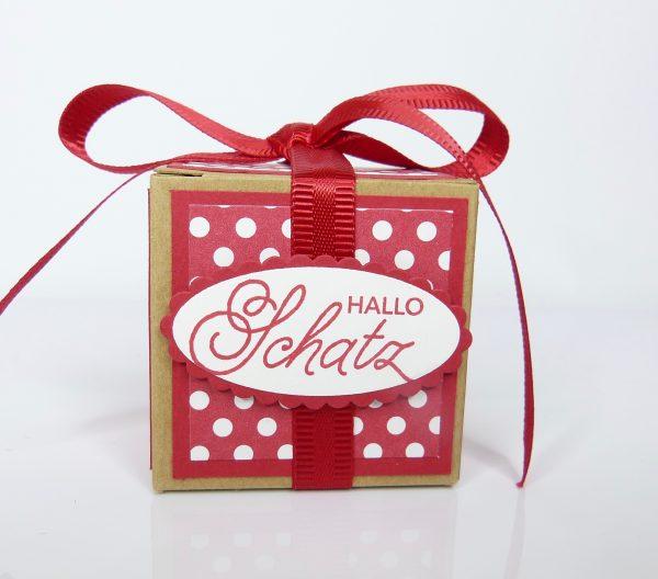 Hallo Schatz Geschenkverpackung