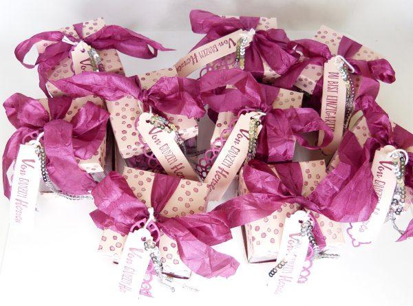 Transparente Mini Geschenkschachteln
