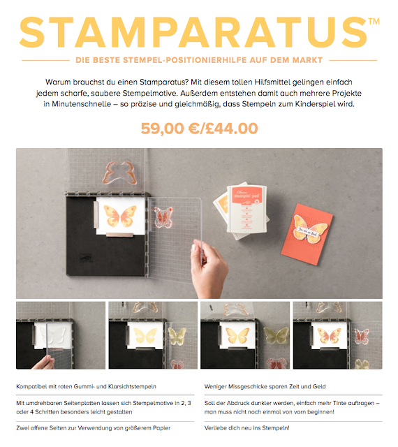 Stamparatus von Stampin' Up!
