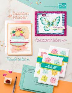 Stampin' Up! Katalog Frühjahrskatalog 2018