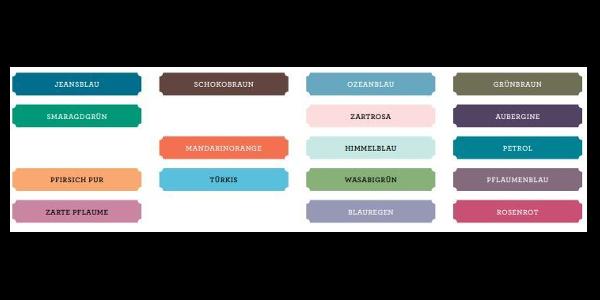 Diese Farben verlassen uns