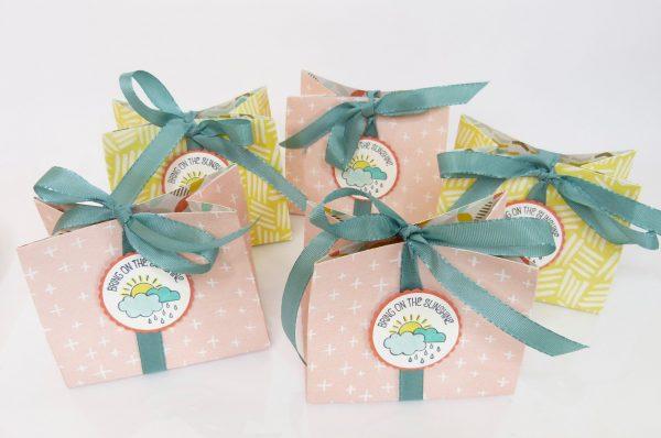 Workshop Goodies Geschenktütchen mit Punchboard