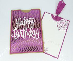 Geldkarte, Geburtstag, Stempelitis Shop