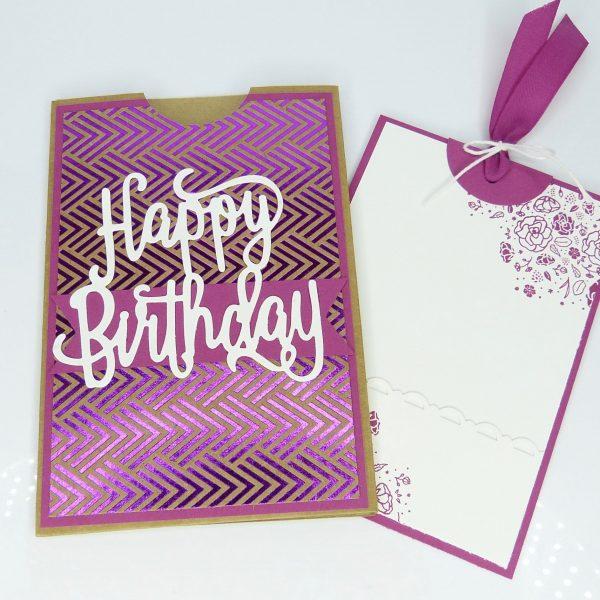 Geldkarte, Geburtstag, Stempelitis