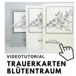 Videotutorial Trauerkarten Blütentraum