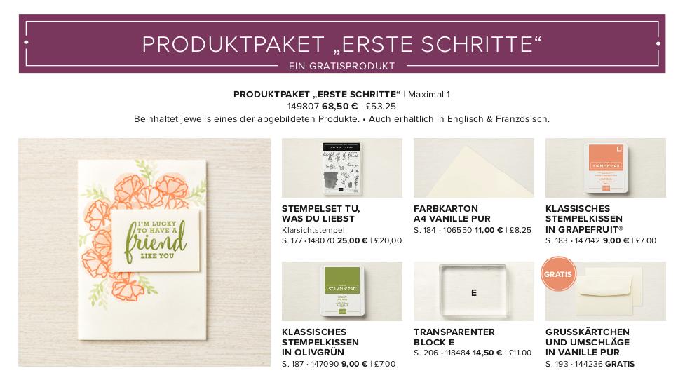 Produktpaket 1 Geteilte Leidenschaft