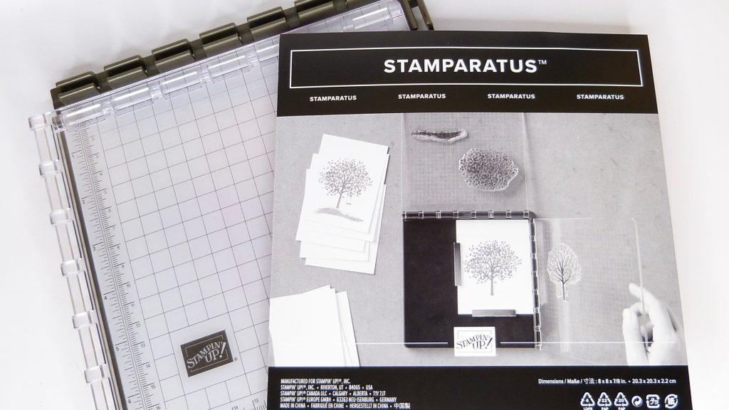 Stamparatus Stempelpositionierer von Stampin' Up! bei Stempelitis.de