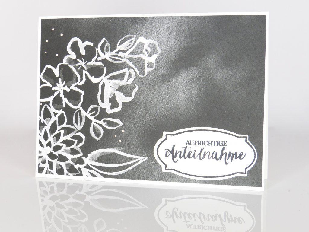 Trauerkarte von Stempelitis