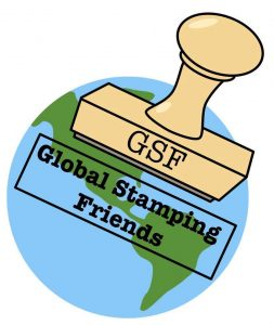 Happy Anniversary BlogHop Logo Global Stamping Friends