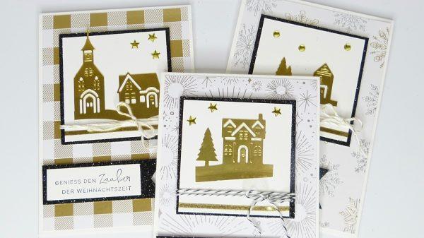 Weihnachtskarten Stempelitis