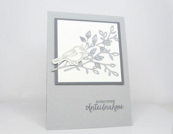 Trauerkarten Blütentraum