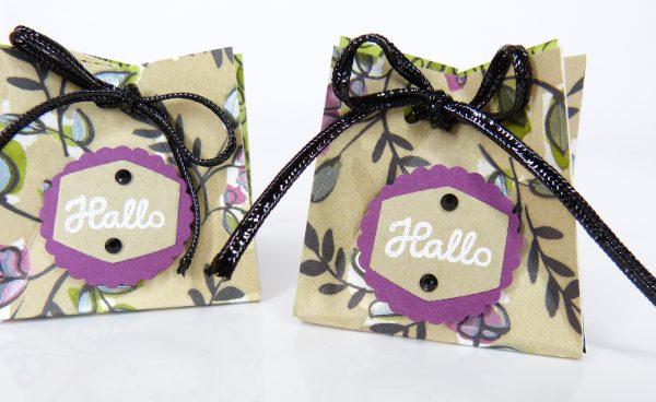 Kleine Schokoladenverpackung von Stempelitis