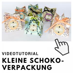 Videotutorial Kleine Schokoladenverpackung