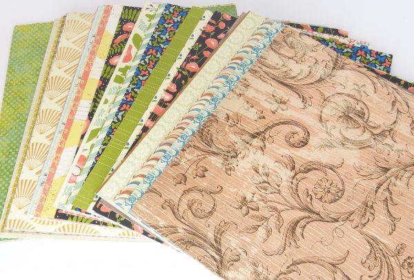 Designerpapier Paket Vintage 1