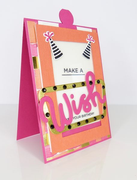 Magic Card mit Broadway Birthday von Stampin' Up!