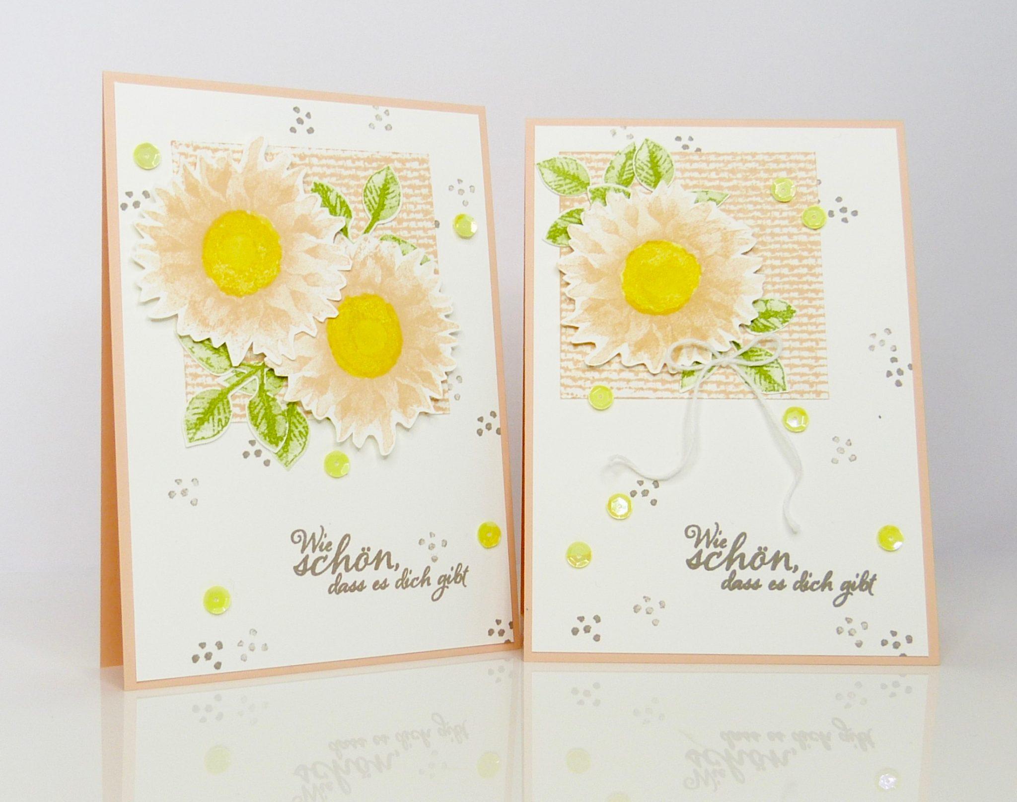 Schön, dass es dich gibt, Sonnenblumen