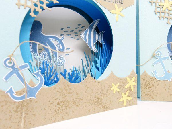 Tunnelkarte Traum vom Meer von Stempelitis