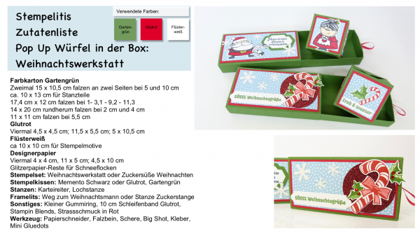 Pop Up Würfel Box