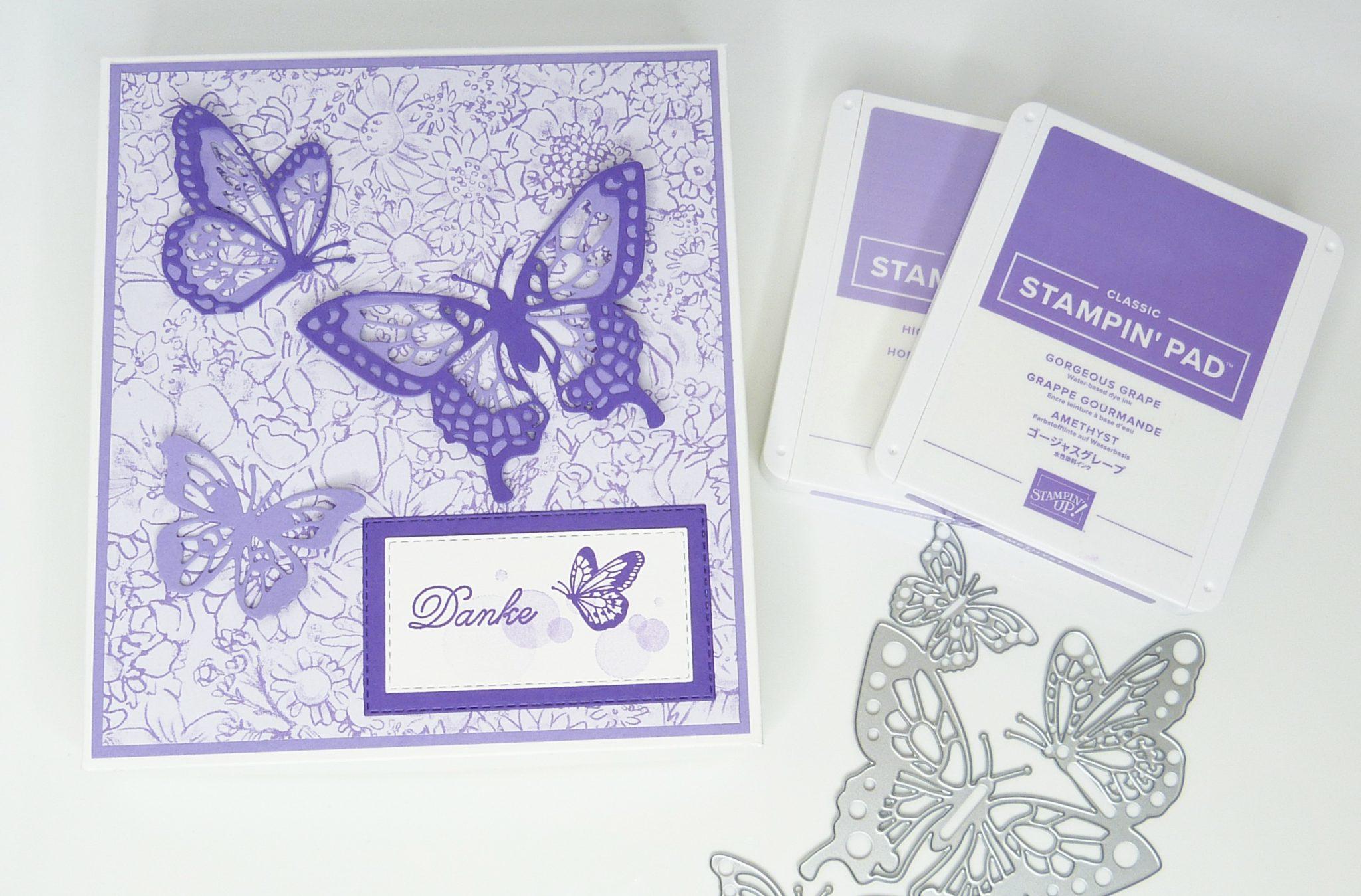Voller Schönheit Schmetterlingsbox