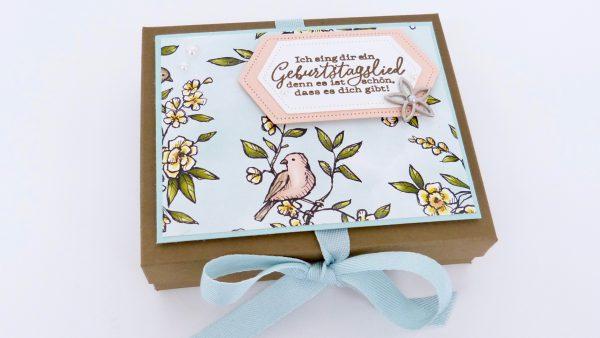 Geschenkbox Vogelgarten