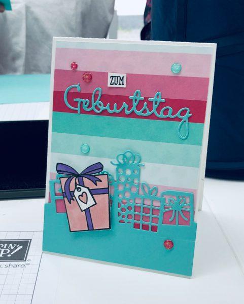 Workshop Geburtstag Geburtstagskarten