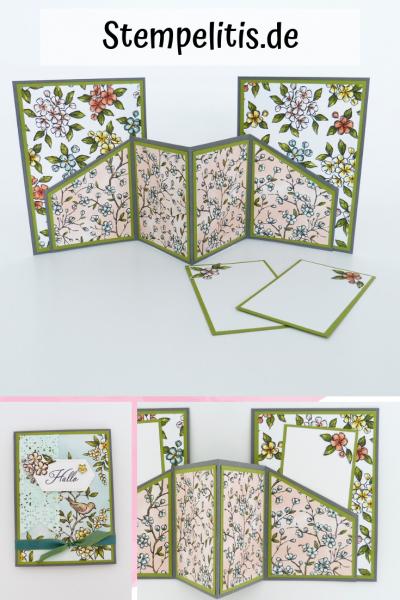 Doppelte Einsteckkarte