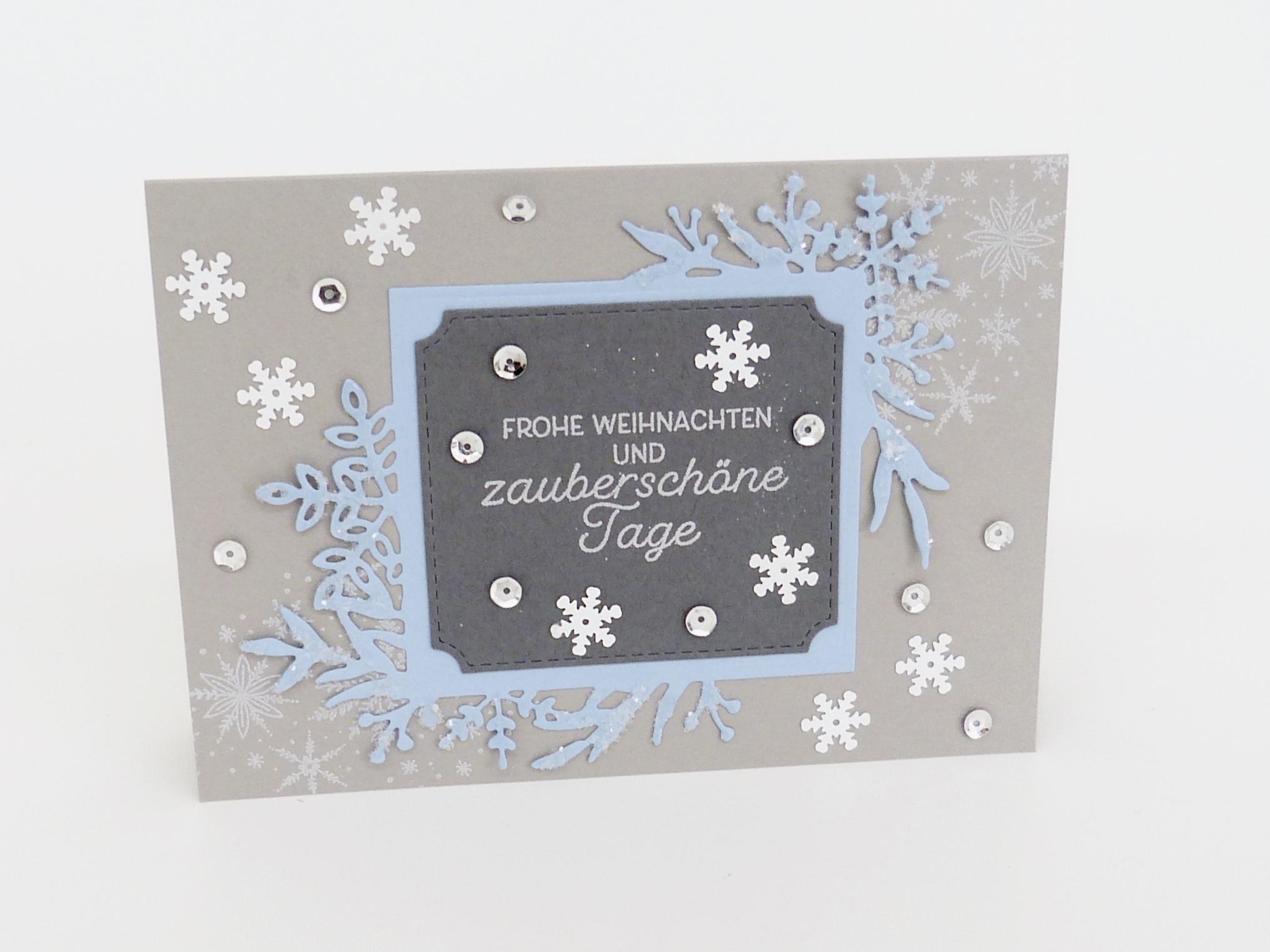 Weihnachtskarte Zauberschön