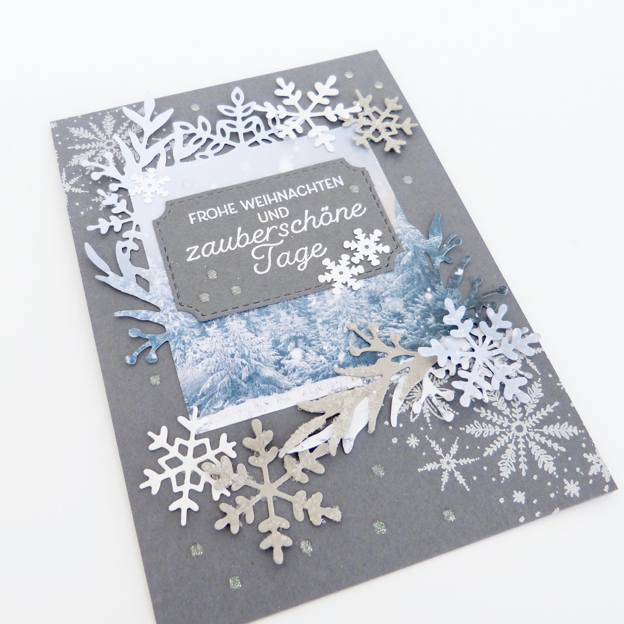 Zauberschöne Weihnachtskarten