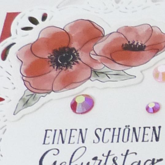 Mohnblütenzauber Donutschachtel