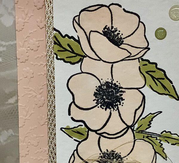Elegante Mohnblüten