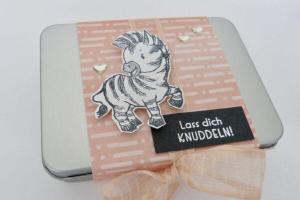Geschenkdosen Zany Zebras