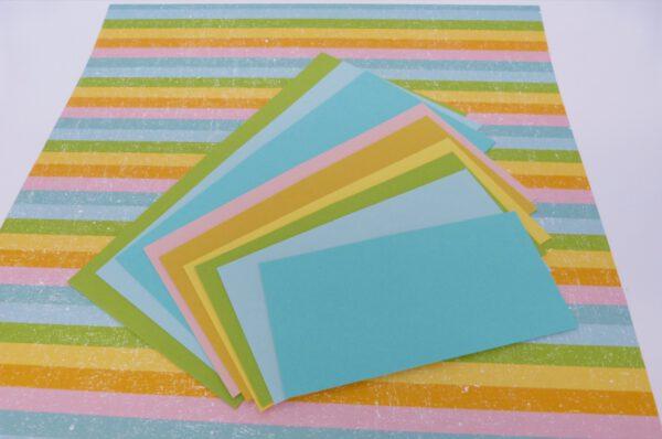 Regenbogen Maze Card