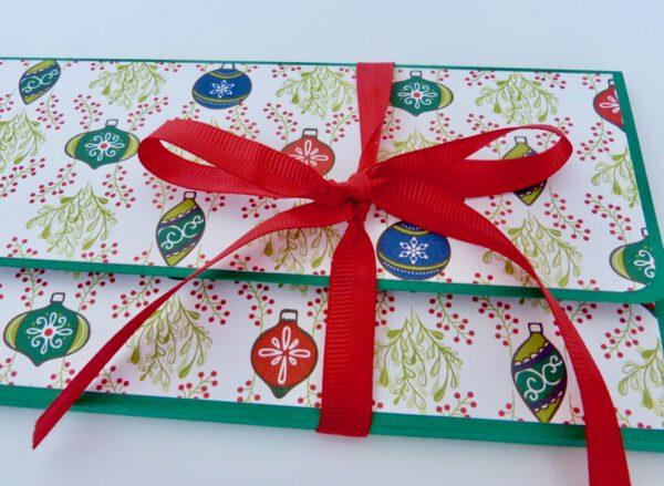 Weihnachtliche Explosionskarten