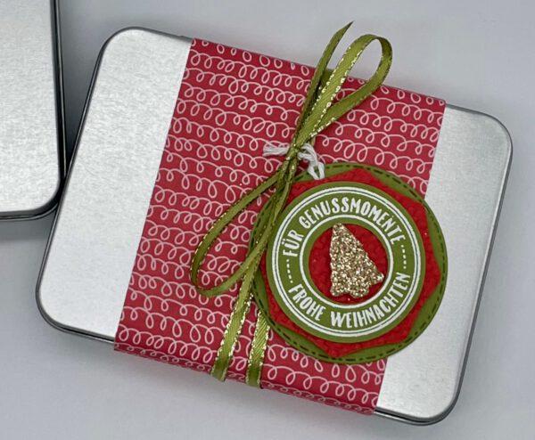 Weihnachtliche Geschenkdosen