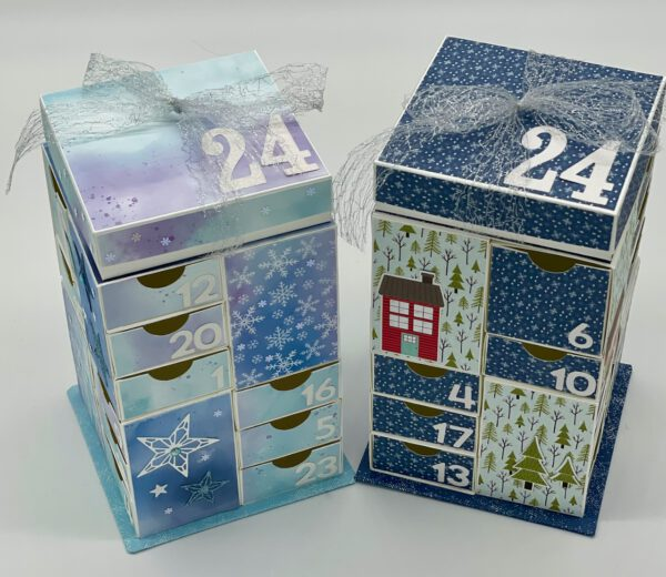 Adventskalender-Turm