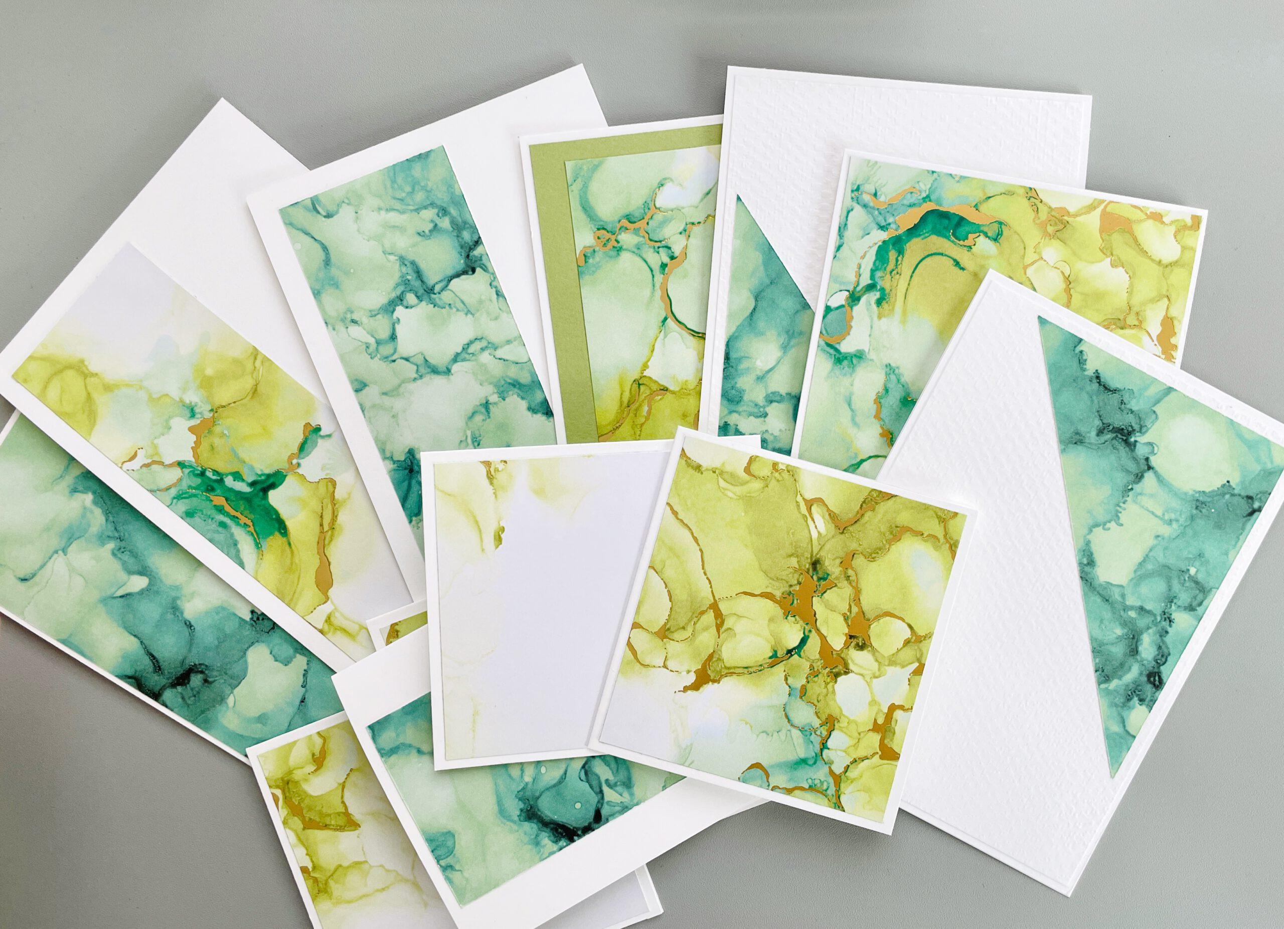 One Sheet Wonder Tintenkunst